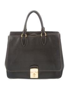 b9d21f54540 Embossed Leather Satchel.  175.00 · Miu Miu