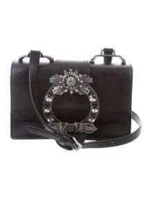 ae691a9623e Miu Miu. Embellished Box Bag