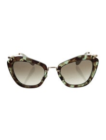1d6533b33ceb Mirrored Aviator Sunglasses. $95.00 · Miu Miu