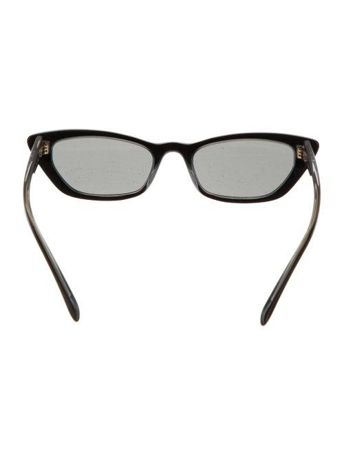 Cat-Eye Tinted Sunglasses