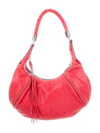 Leather Hobo Bag image 1