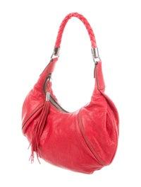 Leather Hobo Bag image 3