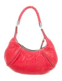 Leather Hobo Bag image 4