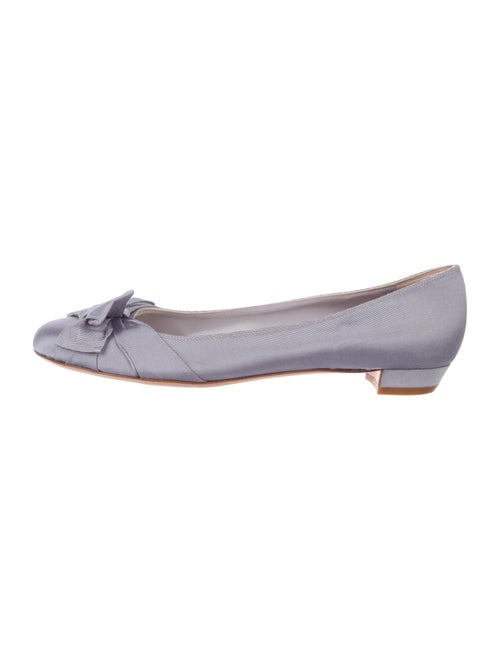 Miu Miu Bow Canvas Flats