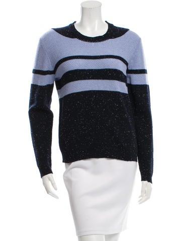 Michael Van Der Ham Striped Wool Sweater w/ Tags None