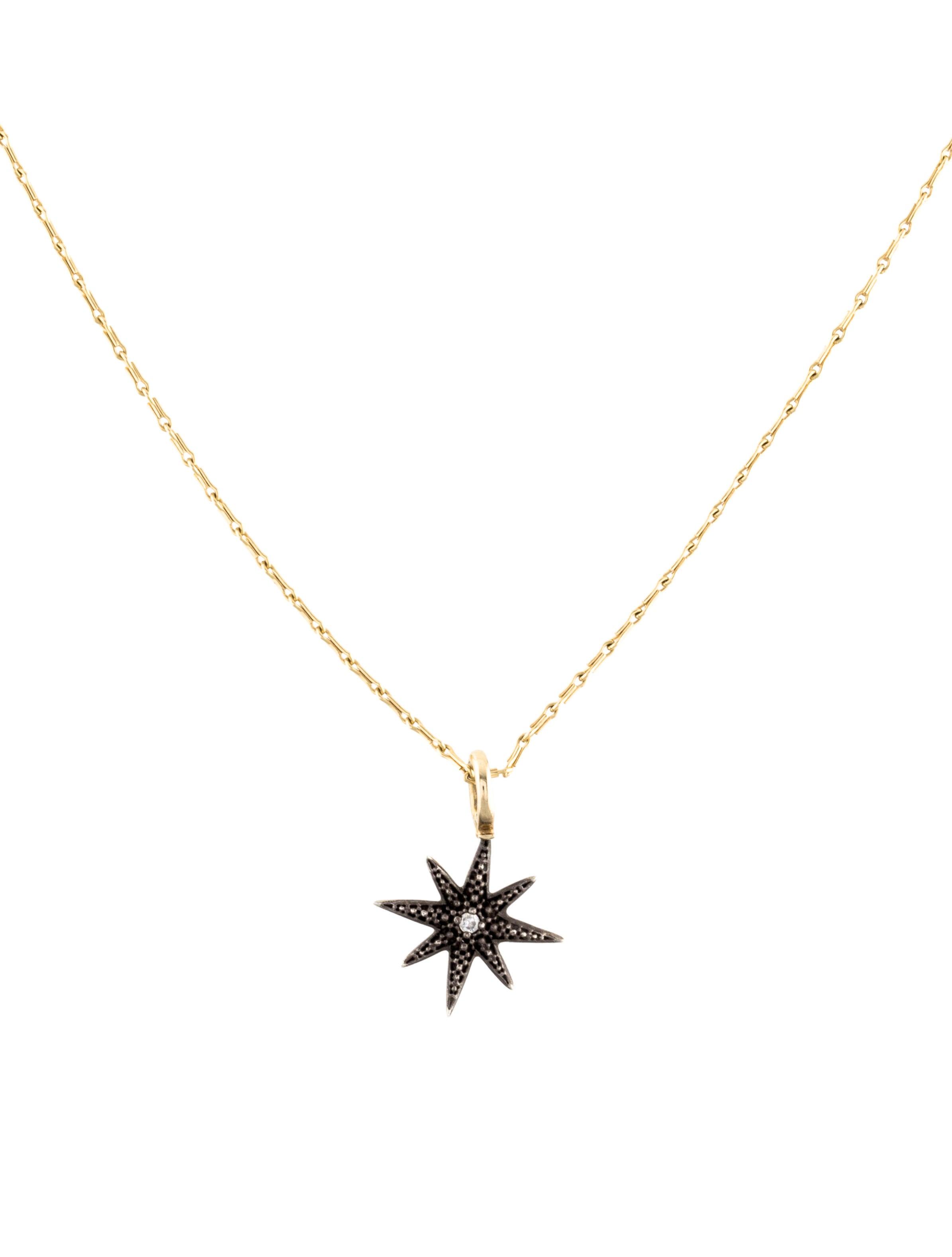 Mizuki diamond star pendant necklace necklaces miz20180 the diamond star pendant necklace aloadofball Gallery