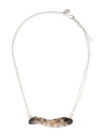 Melissa Joy Manning Freeform Sagenite Necklace