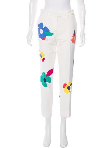 Mira Mikati 2016 Floral Print Pants w/ Tags