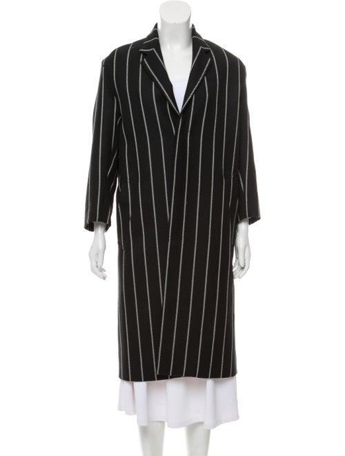 Mackintosh Long Wool Coat Black