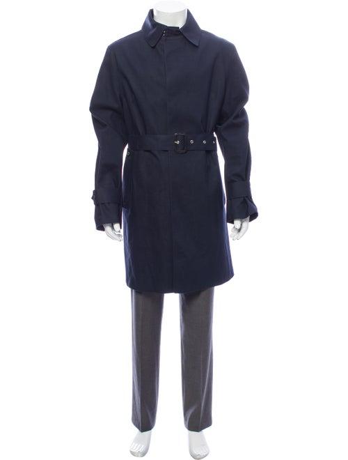 Mackintosh Trench Coat Blue
