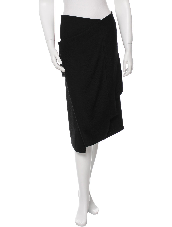 maison rabih kayrouz textured midi skirt clothing