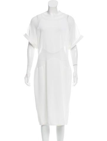 Maison Rabih Kayrouz Knit Midi Dress w/ Tags None