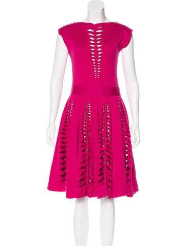 Maison Rabih Kayrouz Knit Sleeveless Dress None