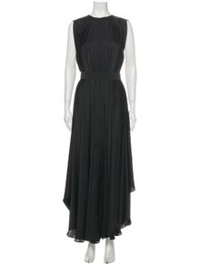 Maison Rabih Kayrouz Silk Long Dress w/ Tags