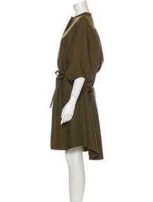 Maison Rabih Kayrouz Wool Midi Length Dress w/ Tags