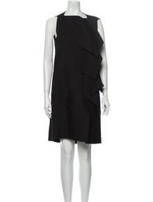 Maison Rabih Kayrouz Square Neckline Knee-Length Dress
