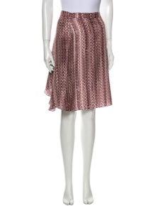 Maison Rabih Kayrouz Silk Knee-Length Skirt