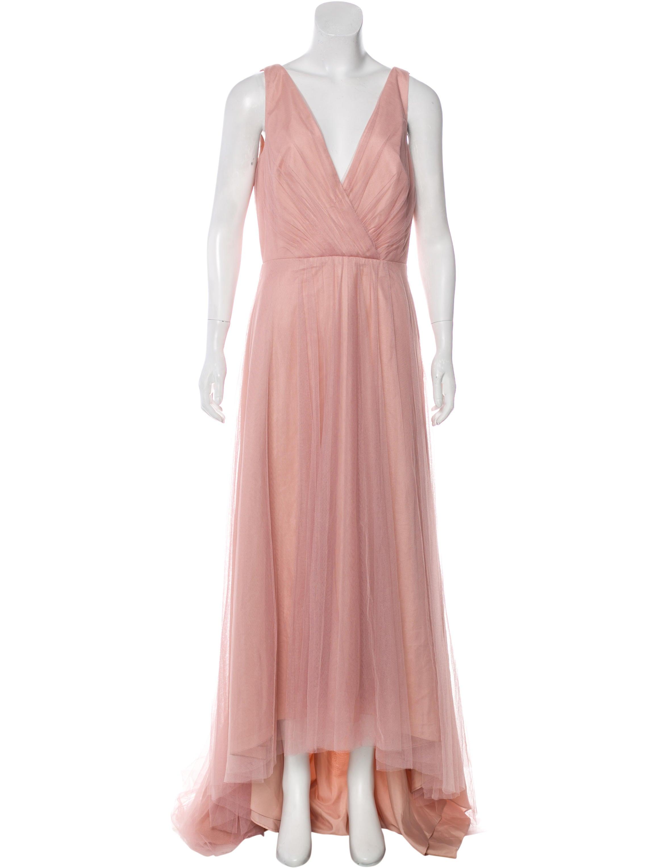 Monique Lhuillier Bridesmaids Sleeveless Evening Dress w/ Tags ...