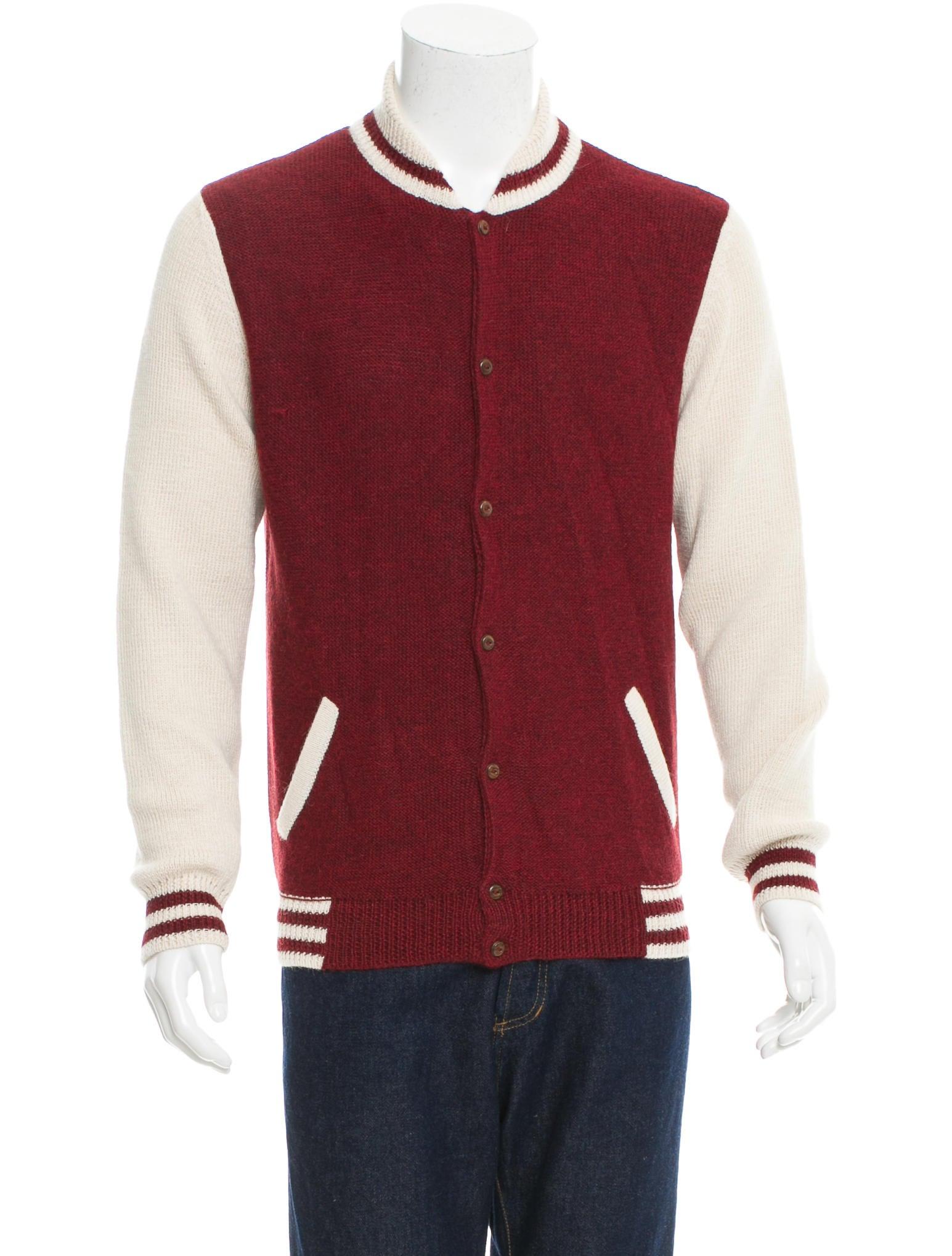 Monsieur Lacenaire Teddy Knit Varsity Jacket w/ Tags - Clothing - MLC20033 ...