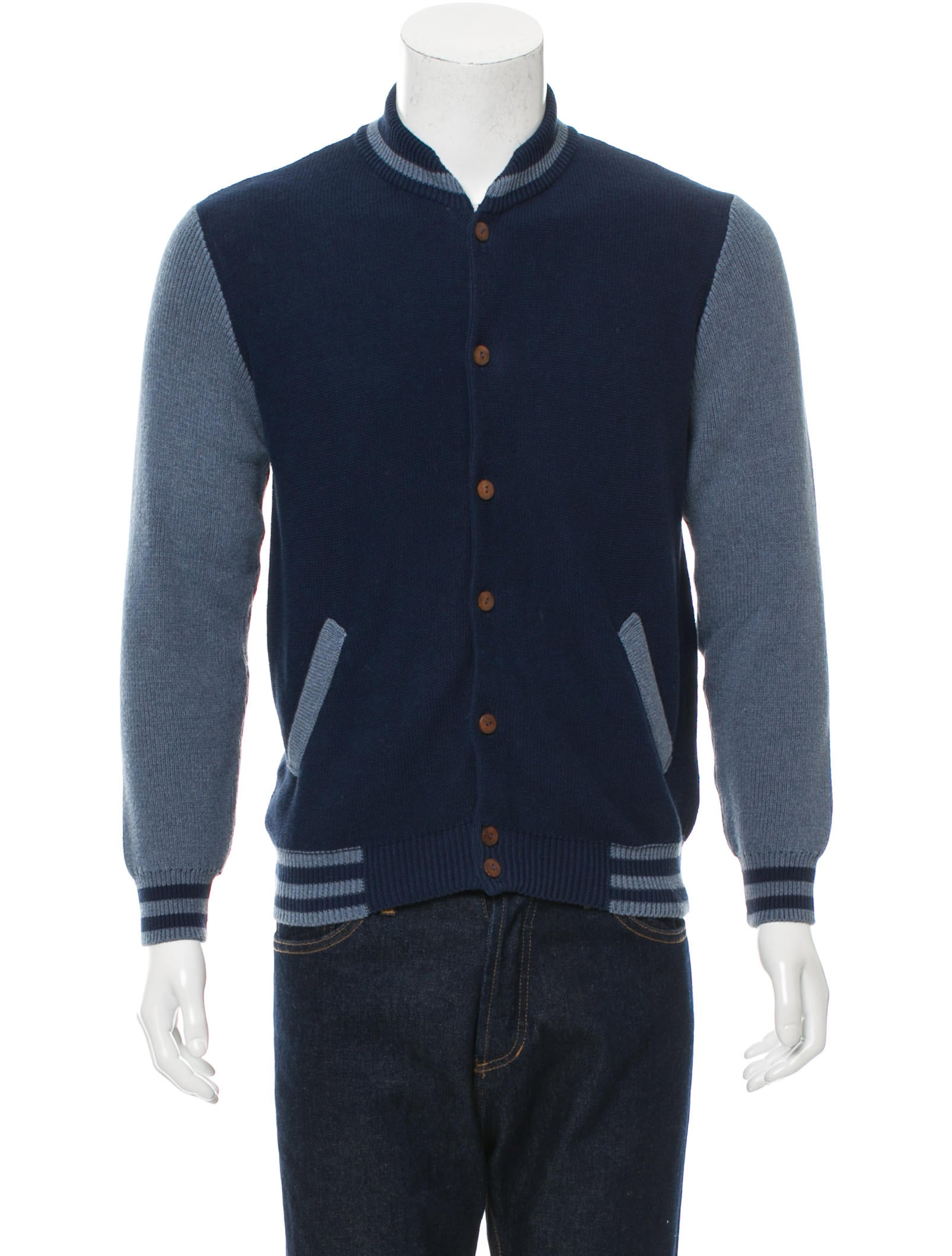 Monsieur Lacenaire Teddy Knit Varsity Jacket w/ Tags - Clothing - MLC20037 ...