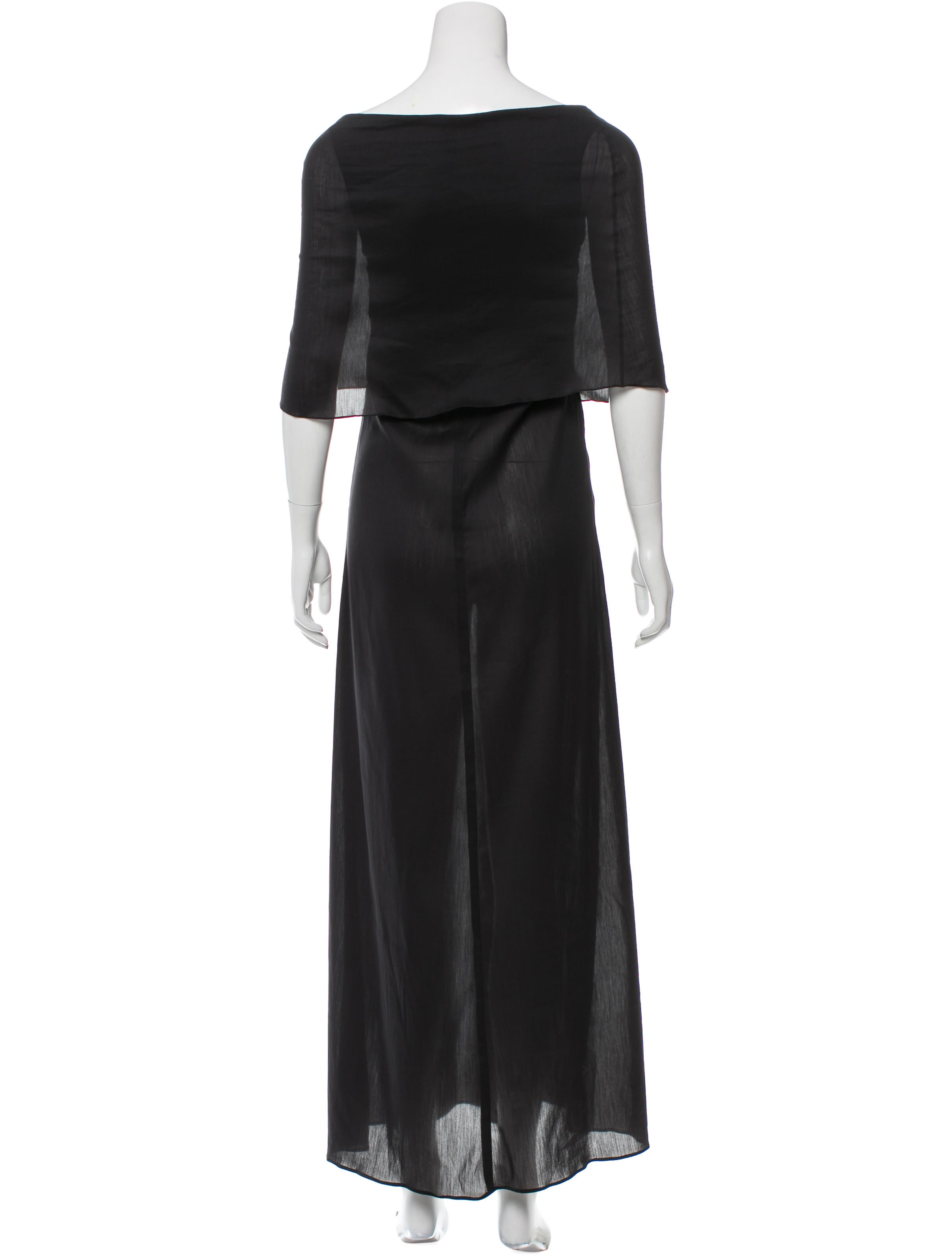 Morgane Le Fay Off The Shoulder Evening Dress Clothing