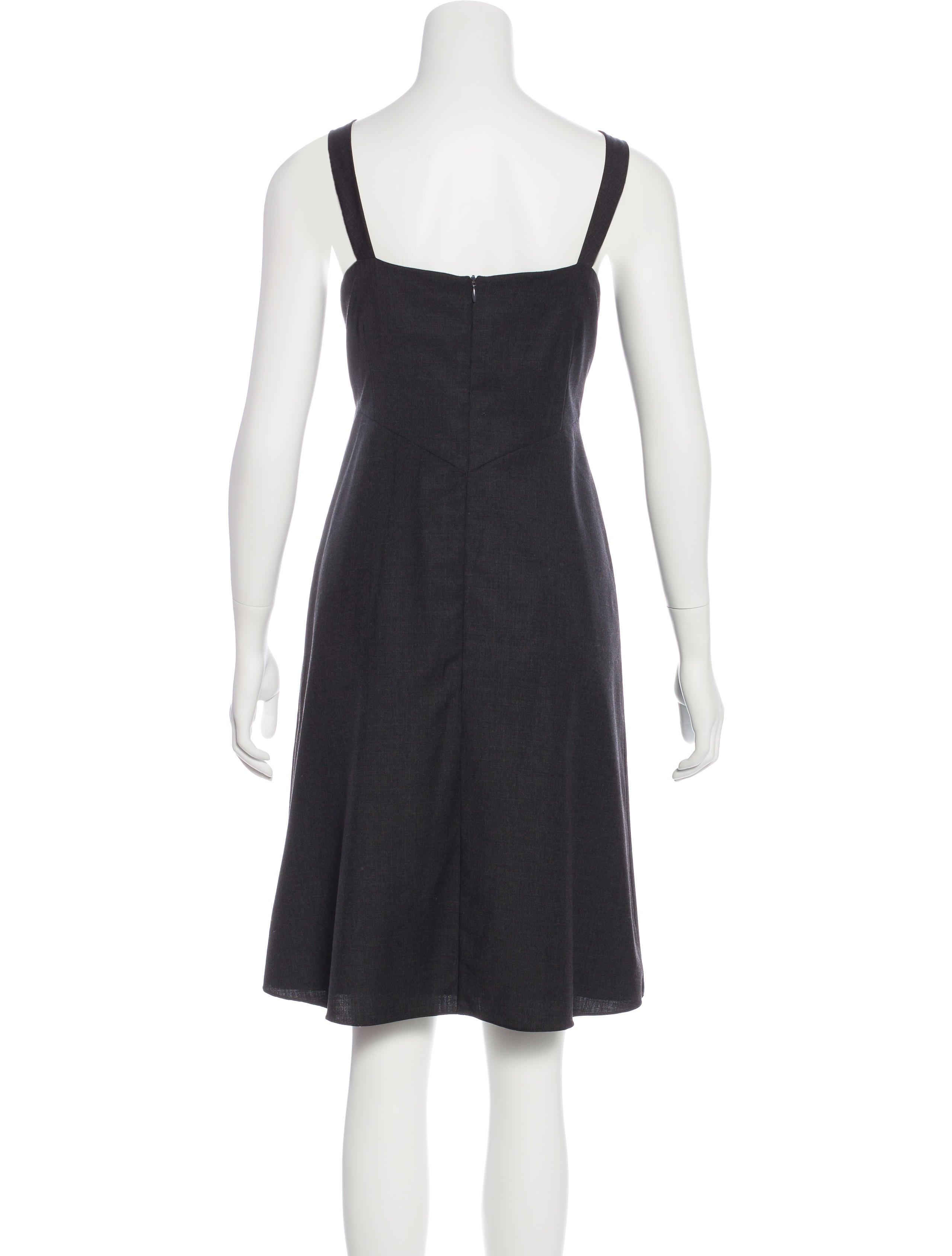 Morgane Le Fay Sleeveless Sheath Dress Clothing