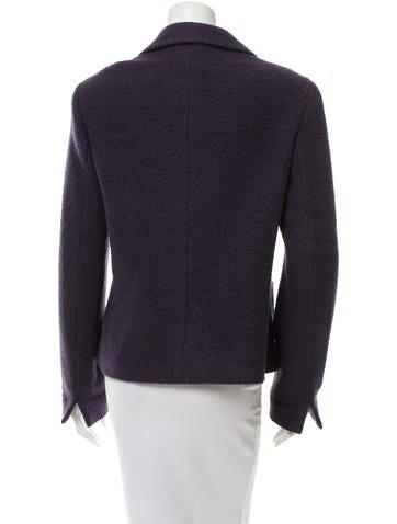 Textured Long Sleeve Jacket