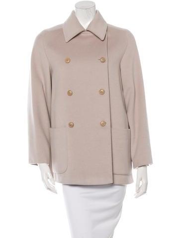 Wool Raglan Sleeve Coat
