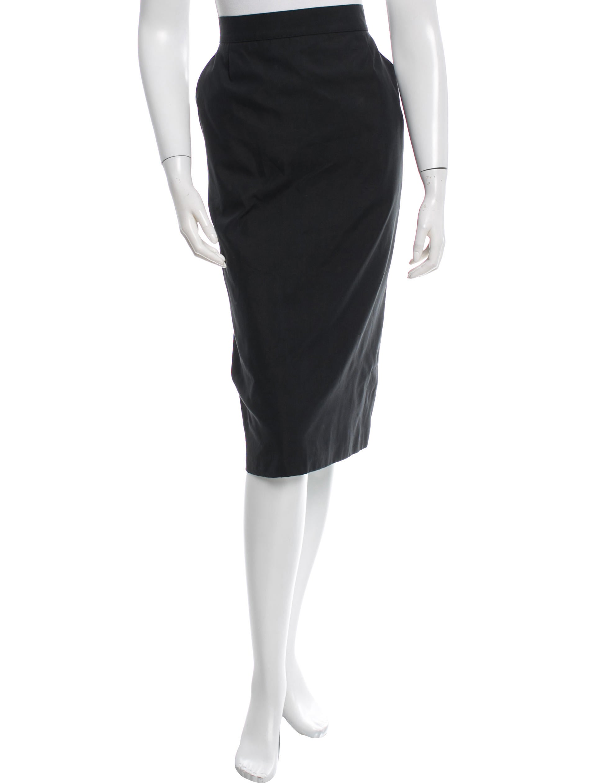 maxmara knee length pencil skirt clothing mma21007