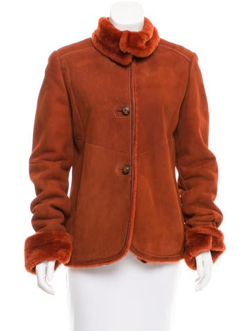 MaxMara Shearling Fitted Jacket