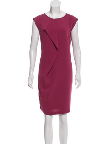 Visit MaxMara Draped Sleeveless Top w/ Tags Buy Online New Sast Online Outlet With Mastercard UNQbXm