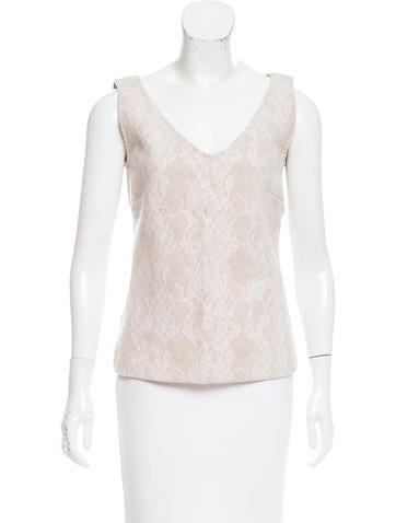 MaxMara Wool Lace Top w/ Tags None