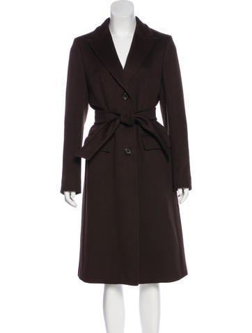 MaxMara Long Cashmere Coat None