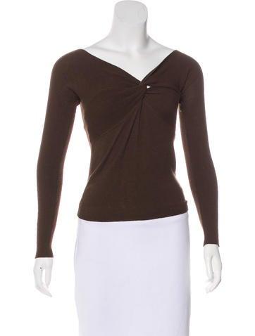 MaxMara Knit Wool-Blend Sweater None