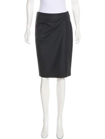 MaxMara Virgin Wool Skirt w/ Tags None