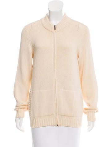 MaxMara Long Sleeve Knit Cardigan None