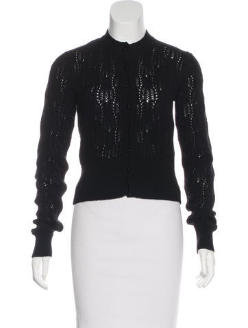 MaxMara Cashmere Knit Cardigan None