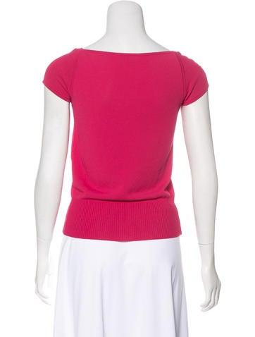 Knit Short Sleeve Top