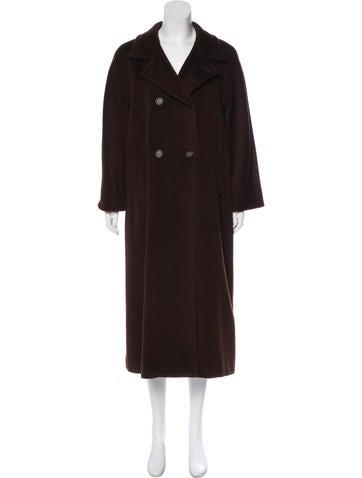 MaxMara Wool Long Coat None