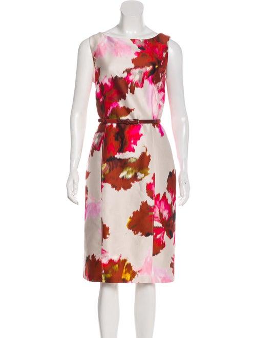 MaxMara Sleeveless Midi Dress White