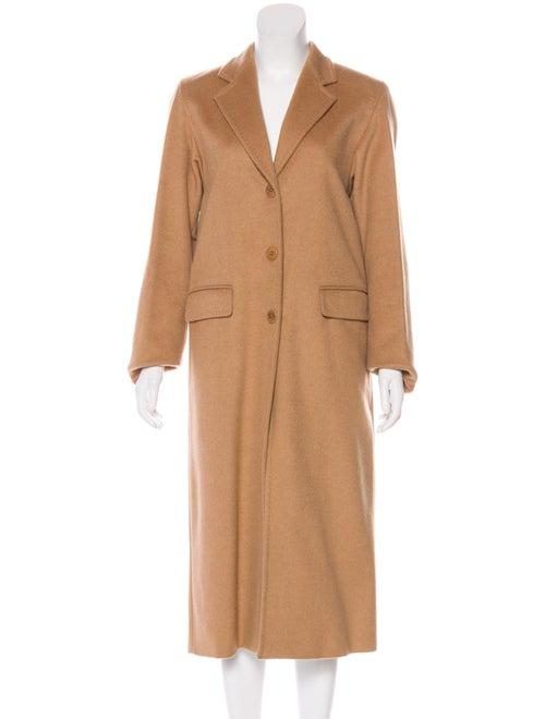 Max Mara Camel Hair Coat Brown