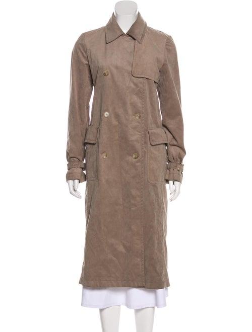 Max Mara Double-Breasted Trench Coat