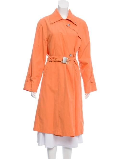 Max Mara Belted Trench Coat Orange