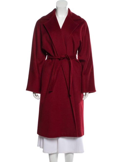 Max Mara Camel Hair Coat Red