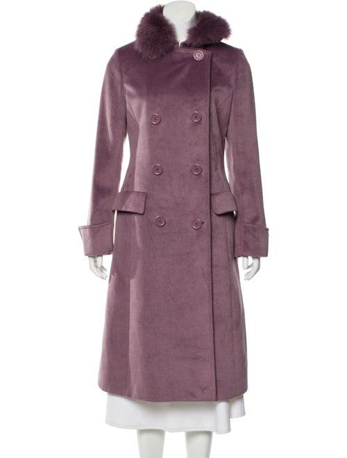 Max Mara Trench Coat Purple