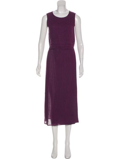 Max Mara Linen Skirt Set