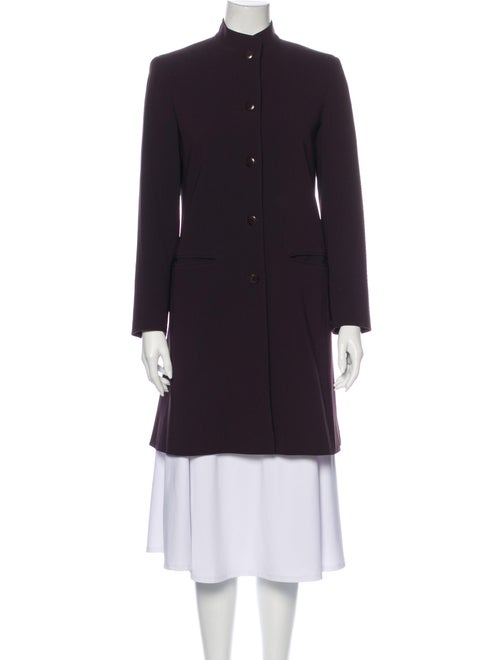 Max Mara Coat Purple