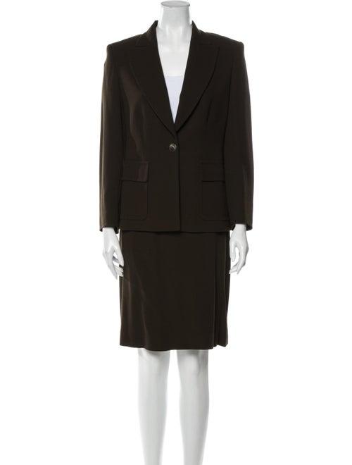 Max Mara Wool Skirt Suit Wool