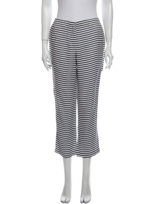 Max Mara Striped Straight Leg Pants