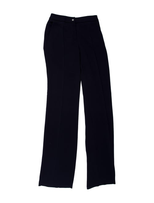 Max Mara Wide Leg Pants Blue